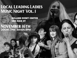 Local Leading Ladies Music Night