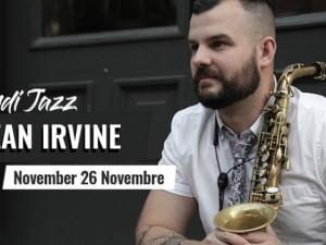 Mardi Jazz: Sean Irvine