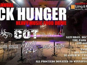 Fifth Annual Heavy Metal Food Drive