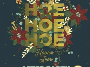 JP Hoe Hoe Hoe Holiday Show After Party Concert + Dance-athon