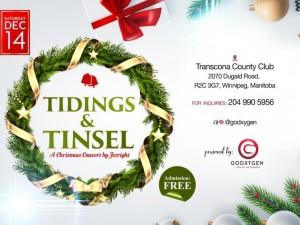 Tidings & Tinsel - A Christmas Gospel Concert