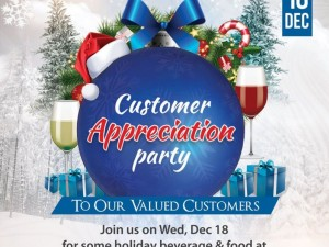 Customer Appreciation Party