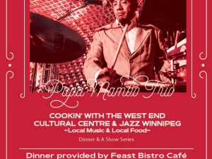 Cookin': Dinner and a Show featuring the Papa Mambo Trio