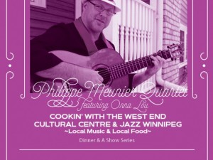 Cookin': Dinner and a Show feat. the Philippe Meunier Quartet w/ Onna Lou