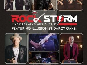 Rock Storm Live Streaming Event **POSTPONED**