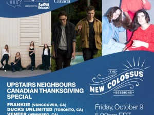 Upstairs Neighbors Canadian Thanksgiving Special