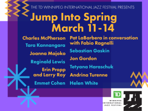 Jump Into Spring Online Jazz Fest
