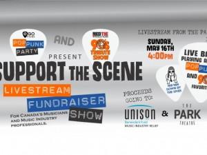 Support The Scene | Livestream Fundraiser Show
