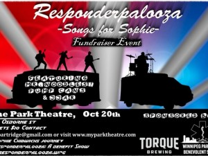 Responderpalooza   Songs for Sophie - A Charity Event