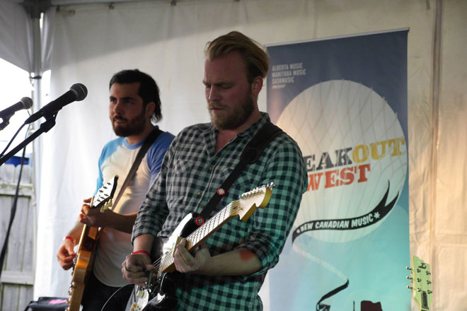 The Bros. Landreth at Americana Music Fest (Photo: Sean McManus
