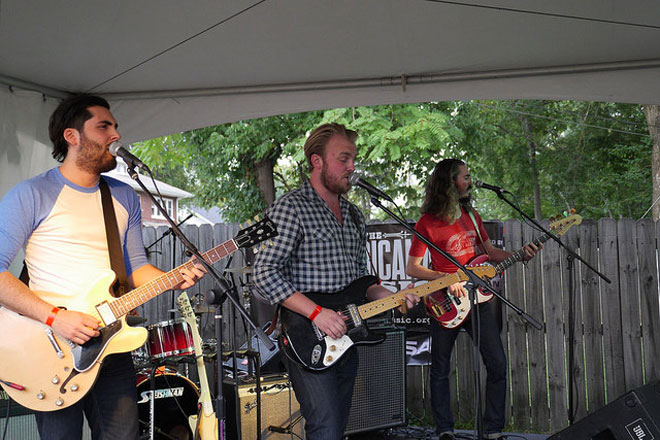 The Bros. Landreth at the Americana Music Festival (Photo: Sean McManus)