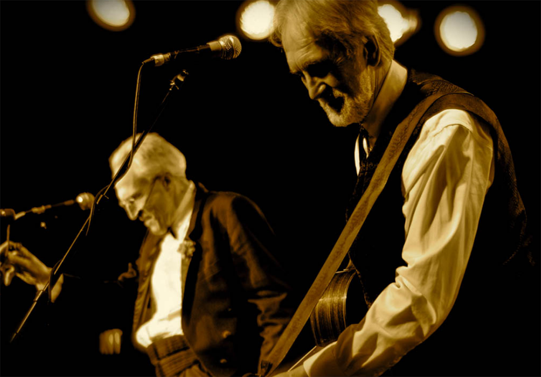 Al Simmons and Fred Penner