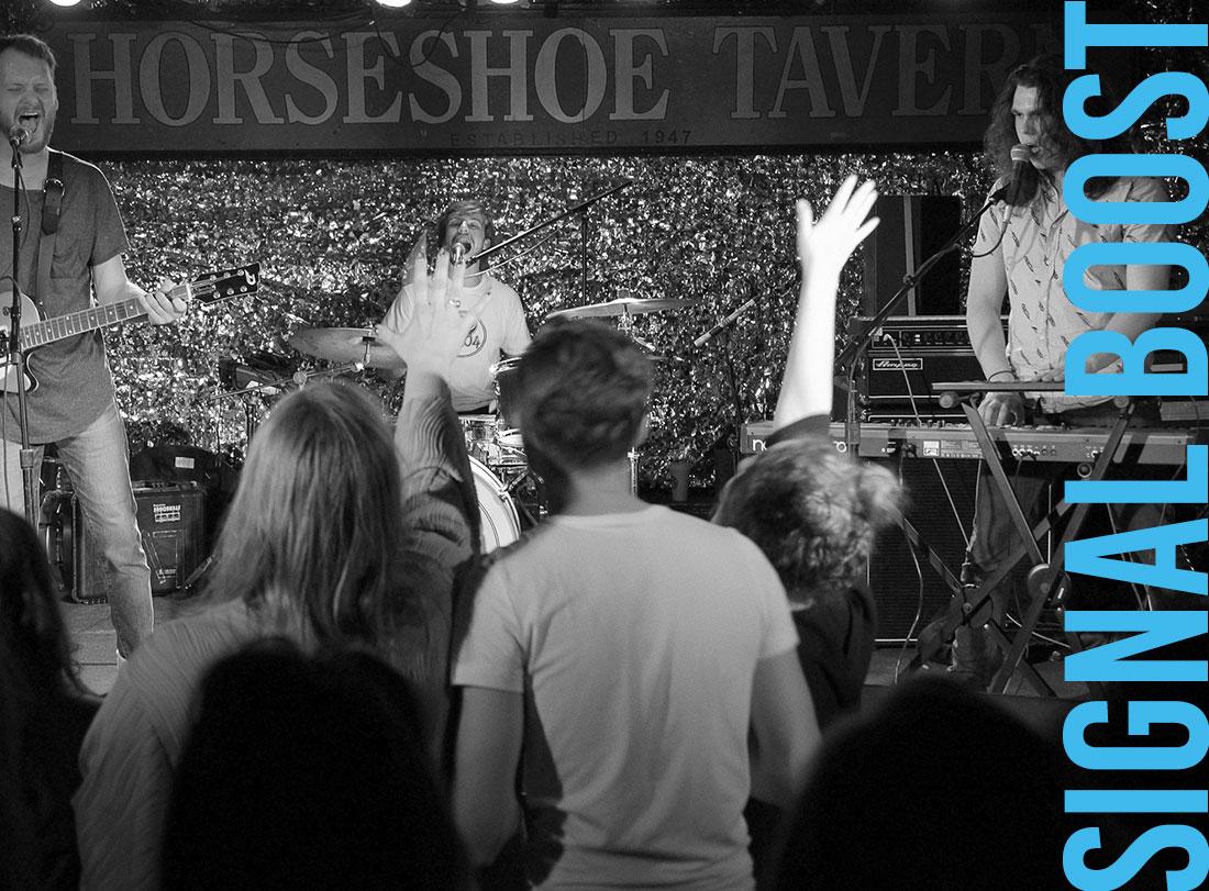 The Middle Coast plays the Horseshoe Tavern on Oct 25 (Photo: Sean McManus)