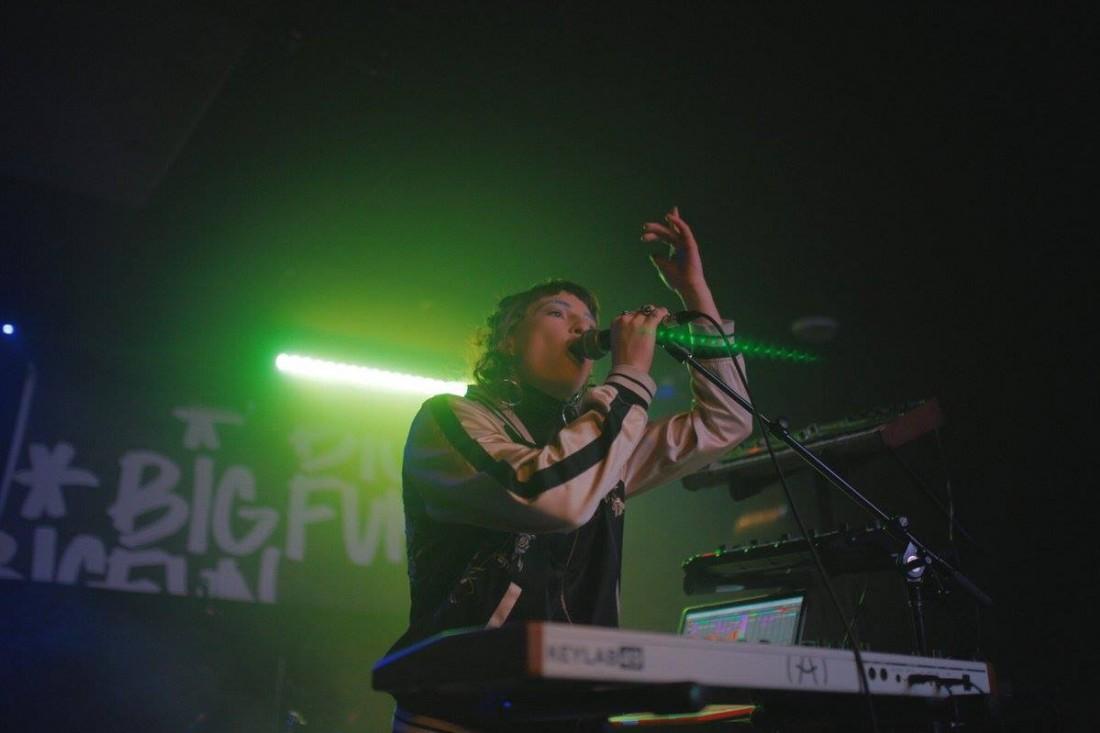 Selci performs at the Manitoba Music Showcase at the Big Fun Festival (Photo: Jen Doerksen)