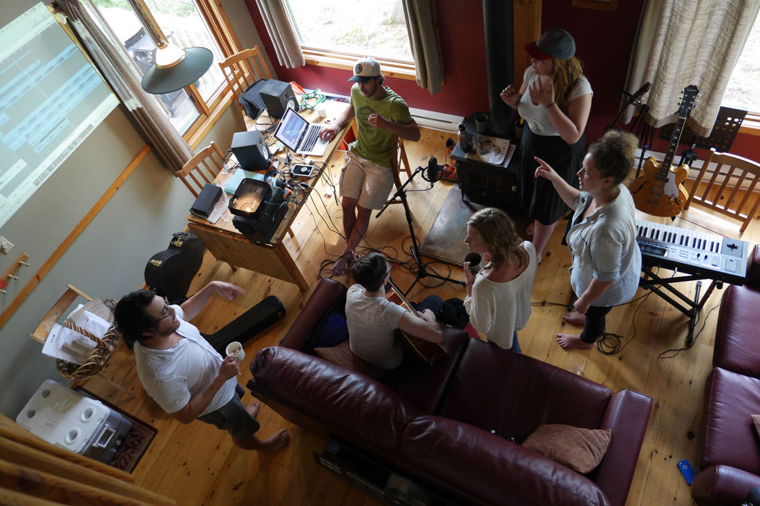2016 Songwriter Retreat clockwise