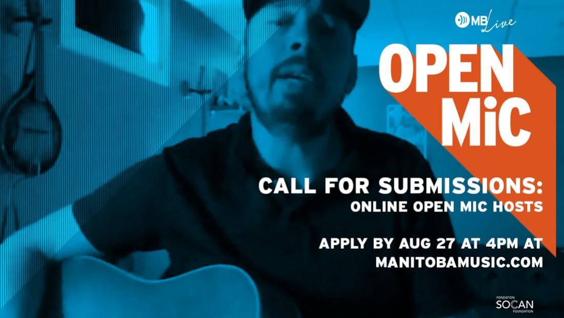 Nelson Little hosting online open mic night in July
