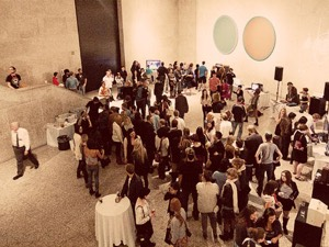 Art lovers take in the numerous exhibitions at the WAG (Photo: Brett Howe, 2011)