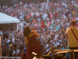 Imaginary Cities plays for the Canada Day crowd at The Forks (Photo: J. Senft Photography)
