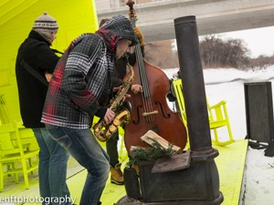 Neil Watson Trio played Hygge House at Manitoba Music On Ice 2014 (Photo: J.Senft Photography)