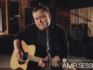 William Prince at the AMP Sessions shoot at Bedside Studios
