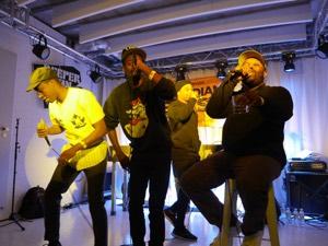 The Lytics live at the BreakOut West showcase Reeperbahn Festival on Sep 25 (Photo: Sean McManus)