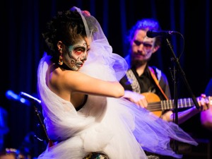 The Mariachi Ghost's Alexandra Garrido (Photo: Alex Palma)
