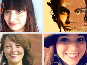 Clockwise from top left: Melissa Mowat, Mike Nash, Heather Gardner, Sara Stasiuk