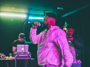 Chris Bxnnxtt at Manitoba Music's Hip Hop Showcase, March 31 at The Good Will