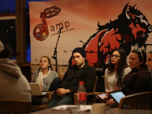 Participants at AMP Camp 2016