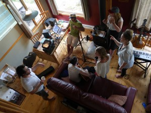 2016 Songwriter Retreat clockwise