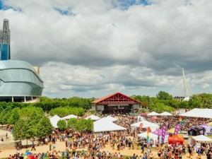 Pride Festival at The Forks 2018