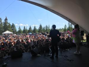 Begonia at Winnipeg Folk Festival 2019