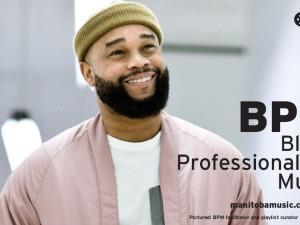 BPM facilitator and playlist curator Andrew Sannie