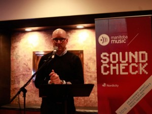 Manitoba Film & Music's Stephen Carroll (Photo: Laurie Brand)