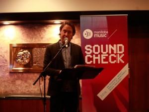 Manitoba Music's Sean McManus (Photo: Laurie Brand)