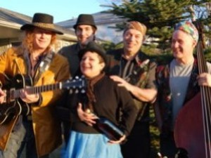 Aliza and the KGB (Klezmer Gypsy Boys)