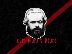 karl marx's beard